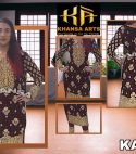 KHANSA EVENING WEAR COLLECTION DESIGN CODE: KA-018FABRIC